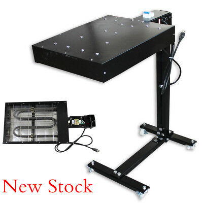 Flash Dryer Silkscreen T Shirt Printing Curing Machine Adjustable Stand 16x16