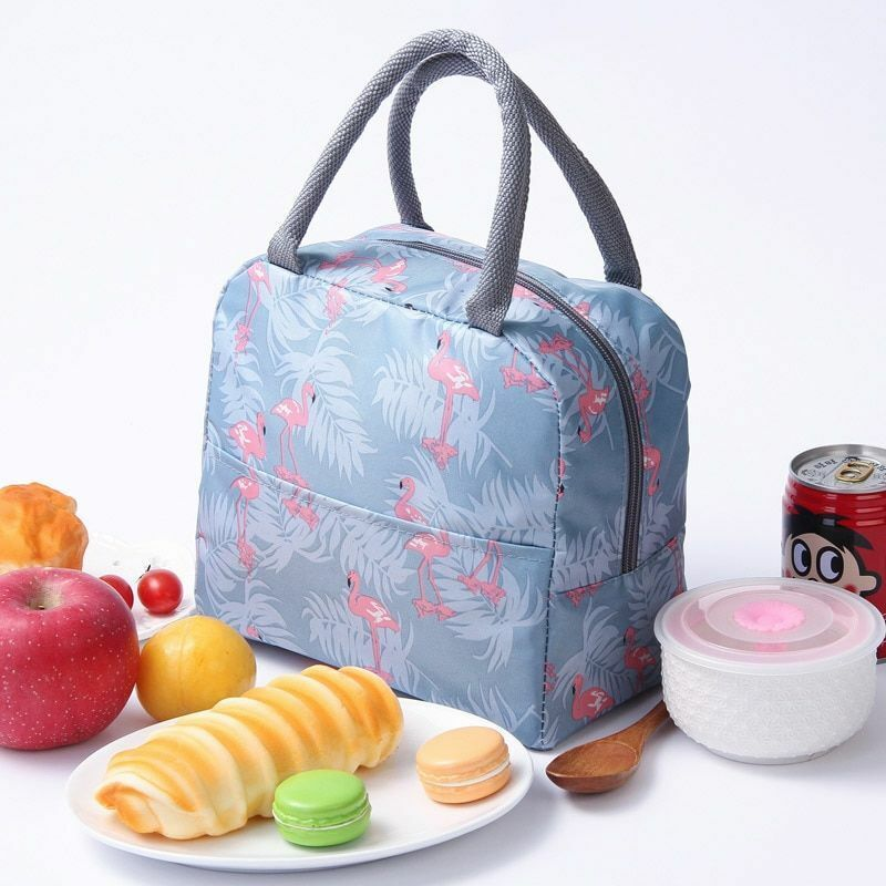 Thermal Bag Women Portable Cooler Lunch Insulated Lunch Box