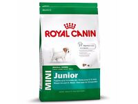 2 x 1.5kg bags of Royal Canin small breed puppy dog food.