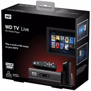 Western Digital WDTV Live Plus Media Player (TV Box)