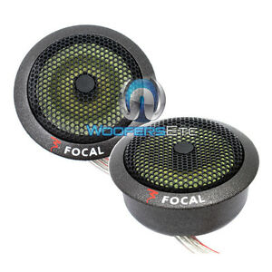 FOCAL AUDIO TN-K POLYKEVLAR TK-242 CAR TWEETERS FROM K2 POWER PAIR NEW