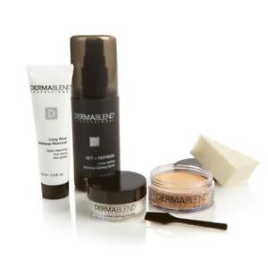 Dermablend Cover Creme Kit with Setting Spray