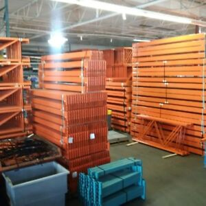 New and used pallet rack and shelving at great prices!