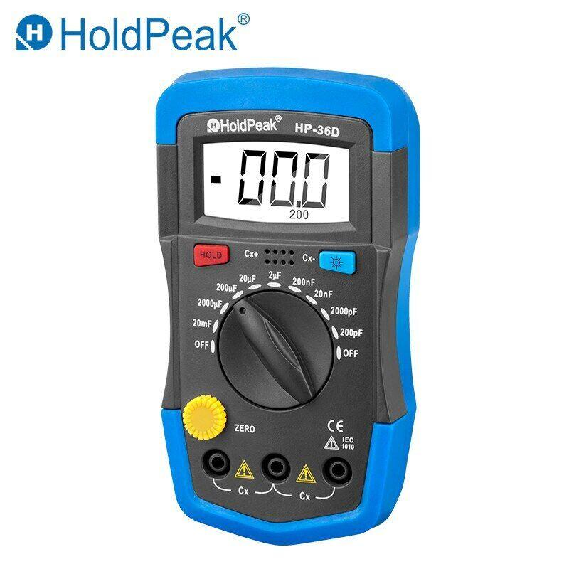 Multimeter Digital Capacitance 200pF-20mF Meter Capacitance Meter 1999 Counts US