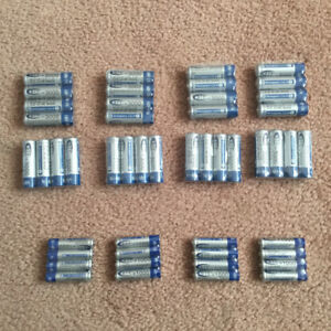 rechargeable batteries AA, AAA, OR 9V