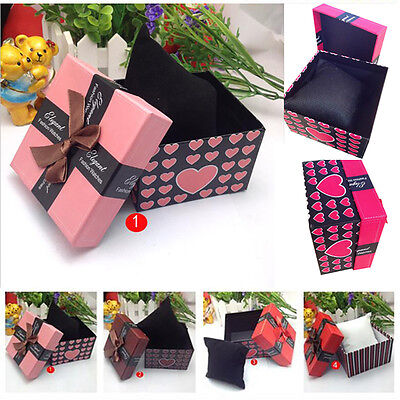 Durable Present Gift Box Case Storage Case For Bracelet Bangle Jewelry Watch Box