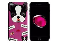iPhone 7 Plus - HOT NEW Cat -patterns 3D Embossed Hard Silicone Case