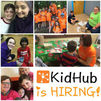 KidHub is HIRING for the 2019-2020 School Year!