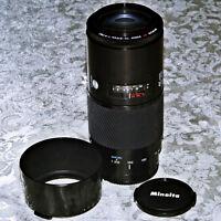 Objectif Minolta / Sony Alpha - AF - 70 - 210 f/4  constant