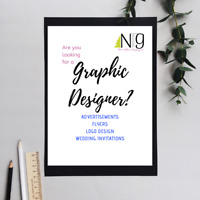 Own a business? Getting Married? GRAPHIC DESIGNER AVAILABLE!