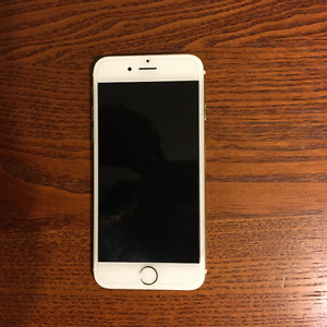 Selling Gold IPhone 6 16GB -locked to bell/virgin