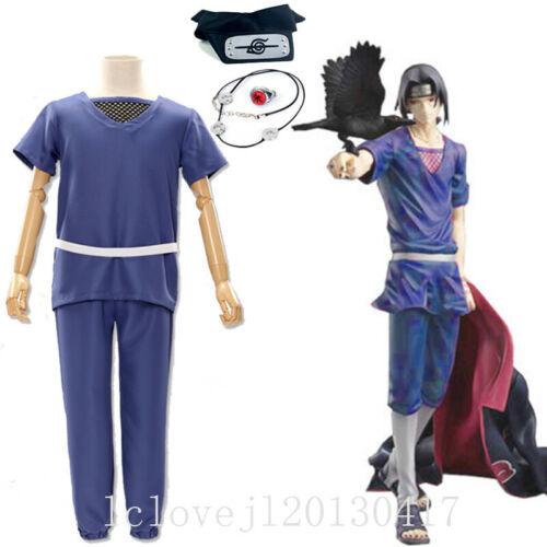 2020 Cosplay Anime Akatsuki Itachi Uchiha Deluxe Halloween Suit Full Set