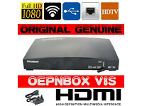 GENUINE OPENBOX/SBOX V8S SATELLITE BOX FULL HD 1080P ETHERNET WEB TV 2XUSB NEW MODEL