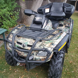 Attn: Hunters ->> Camouflaged 2007 Can-Am Outlander 650 H.O. XT