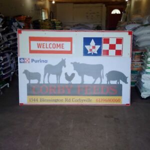 Livestock Feeds and Trailering at Corby Feeds