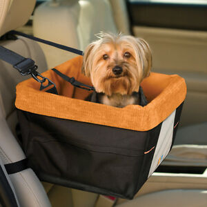 Kurgo Skybox Dog Booster Seat for Cars with Seat Belt Tether NEW