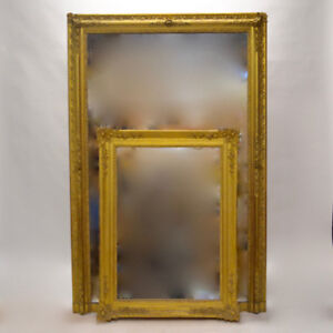 Spectacular Carved Gilt Mirror + Collection of French Antiques