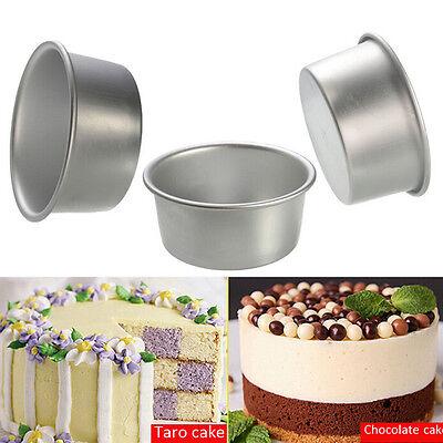 4/5/6/8/9'' Aluminum Alloy Non-stick Round Cake Baking Mould Pan Bakeware HK ()