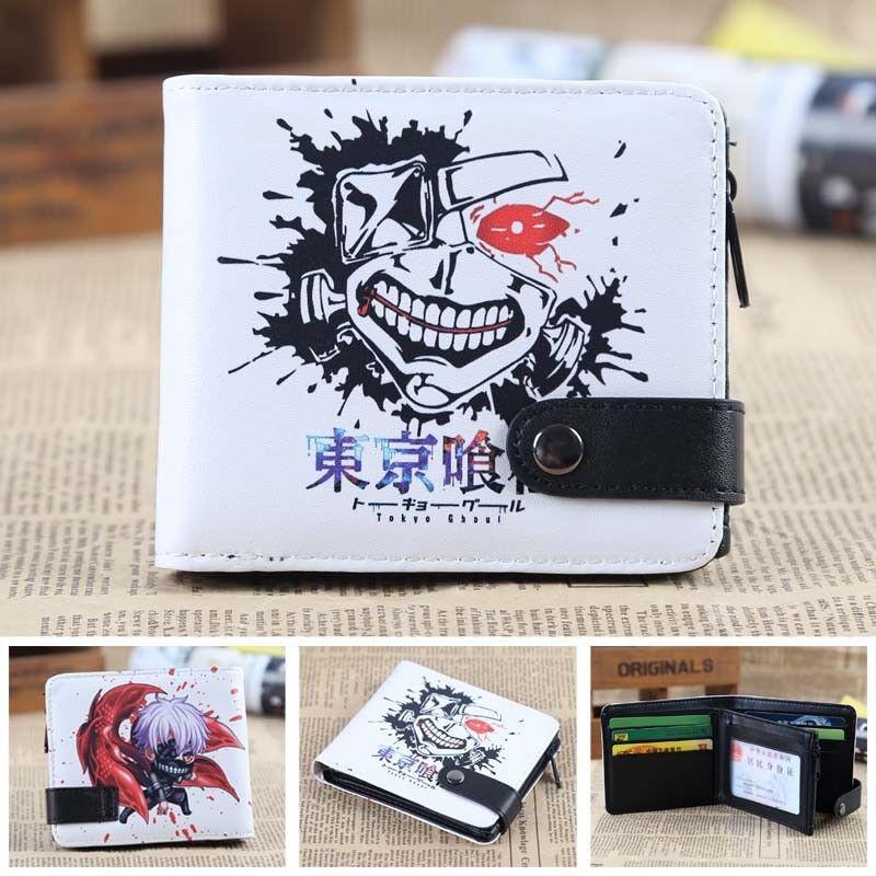 Tokyo Ghoul kaneziki ken Unisex Short Purse Leather pu Wallet Otaku Gift New