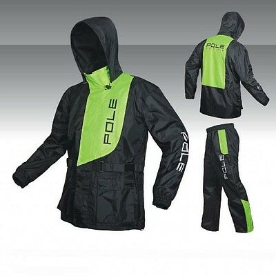 New Men Motorcycle Clothing Outdoor Riding Raincoat Rain Suits Pants Red Green