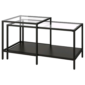 Black Glass Coffee Tables