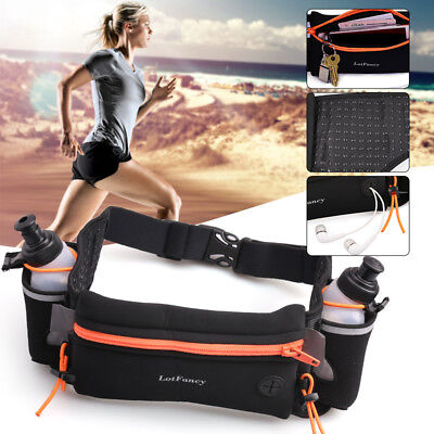 Relojes Y Joyas 100% True Aonijie Men Women Running Waist Pack Lightweight Outdoor Sports Racing Hiking Gym Fitness Hydration Belt Water Bottle Hip Bag To Be Distributed All Over The World