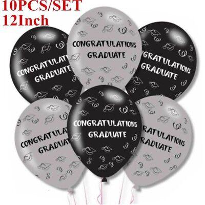 10pcs 12inch Mix Color Graduation Latex Balloons Graduation Party - Graduation Balloons
