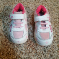 Pink and white size 7 Running shoes