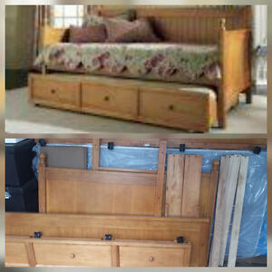 Casey Trundle bed, as new