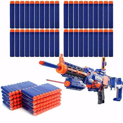 Blue 400PCS Refill Bullet Darts for Nerf N-strike Elite Series Blasters Toy Gun