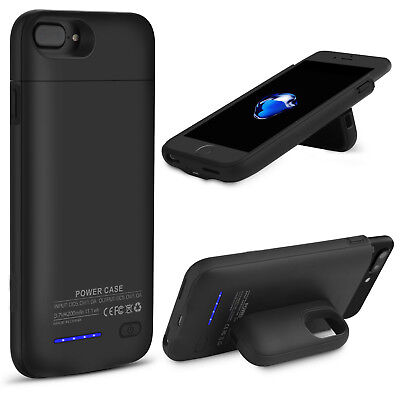 Portable Charger Case External Battery Rechargeable Backup Cover for iPhone X 8+