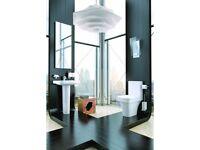 +SALE+ K-Vit Sicily Toilet & Full Pedestal Basin Package