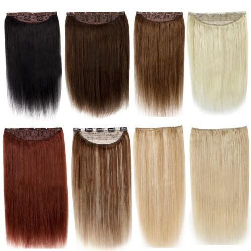 Full Head Or Highlight One Piece Clip In Remy Human Hair