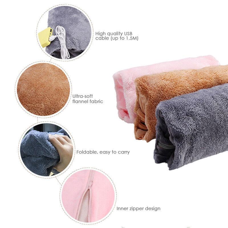 Car USB Heater Hot Water Bottle Hand Feet Care Warmer Warm C