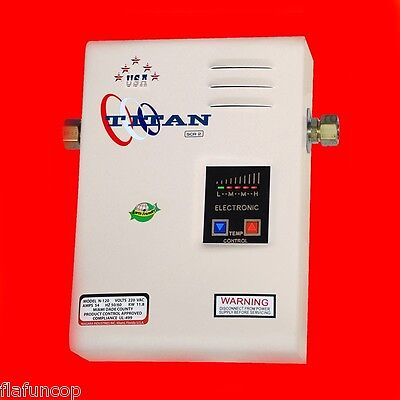 Titan N-120 Tankless Water Heater - 2018 Electric SCR-2 model - NEW - Ships free