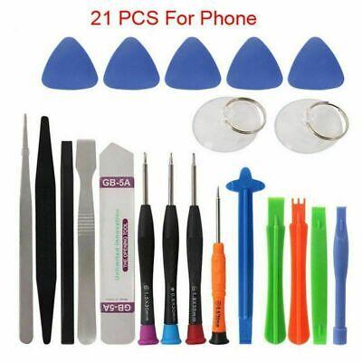 21 in 1 Mobile Phone Repair Tools Kit Spudger Pry Opening Tool Screwdriver AAA