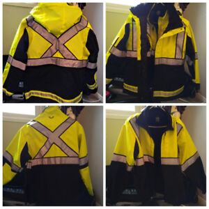 NEW Hi-Visibility 2-in-1 Winter Jacket (Paramedic, Police)