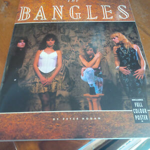 The Bangles, Includes Full Colour Poster, 1989 Kitchener / Waterloo Kitchener Area image 1