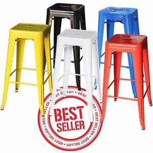 4 Replica Tolix Stools For Cafe Home Restaurant Choice of Colours Silverwater Auburn Area Preview