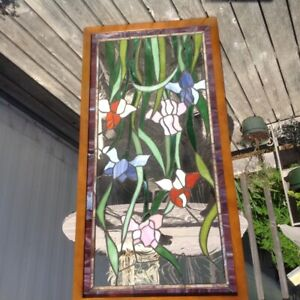 Beautiful Stained Glass Window for Sale.