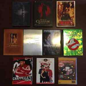 DVD Collection: Terminator 2, Chappelle's Show, Ghostbusters etc