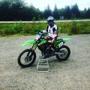 Like new KX250F - Less than 10 hours