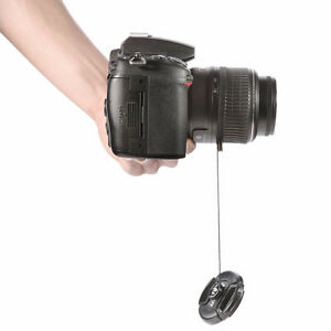 Camera Lens Cap Keeper Holder