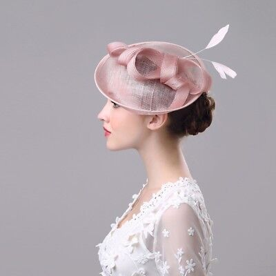 Women's New Elegant Derby Hat Church Cap Bridal Cap Tea Party Wedding Headpieces