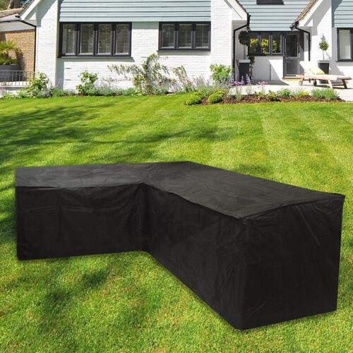 Patio Furniture Corner Sofa Set Cover L-Shape Outdoor Home W