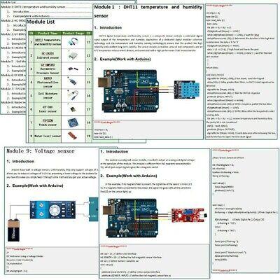 Professional 22 In 1 Sensor Module Starter Kit Set For Arduino Raspberry Pi