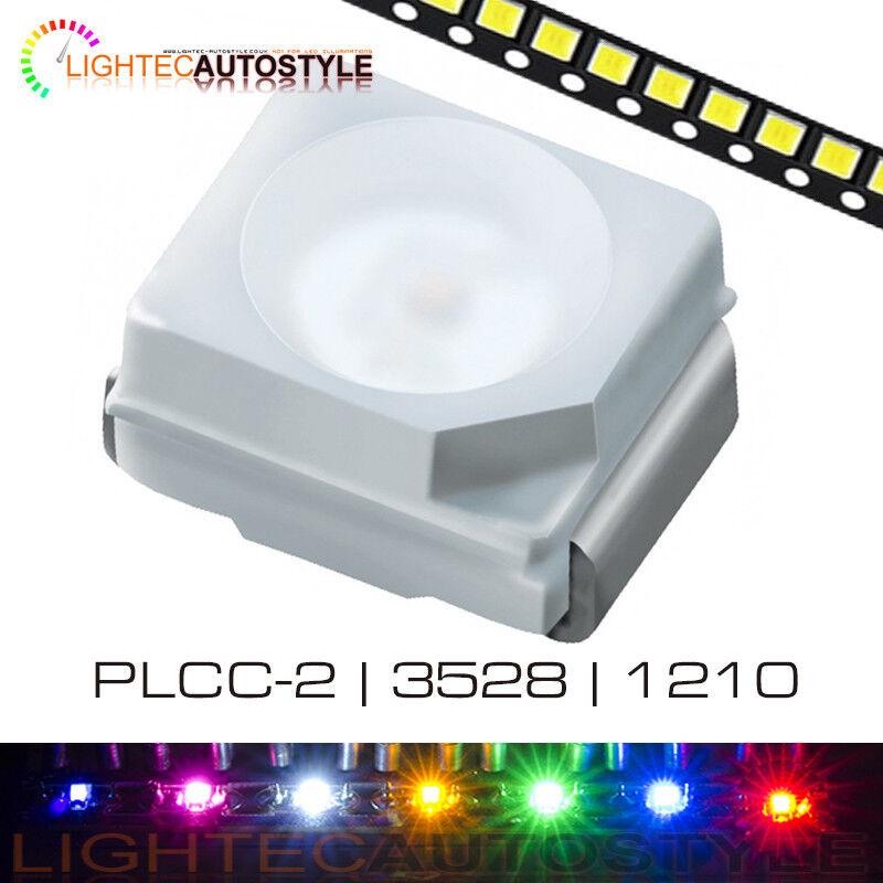 Ultra Bright Plcc 2 3528 1210 Smd Leds Surface Mount Smt 1 100 Pcs Plcc2 Ebay
