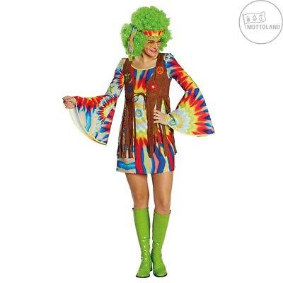 Mottoland 118177 Kostüm Hippie Lady Kleid mit Weste Gr. 36 - (Kostüme Kostüme Land)