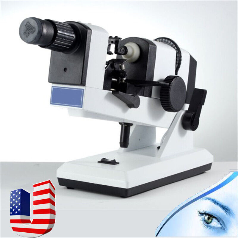 CE Manual Optometry OphthalmicLens Measurement Lensmeter Focimeter Optic Device
