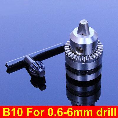 New B10 Drill Clip 0.6-6mm Small Drill Chuck Precision Chuck Taper Connection